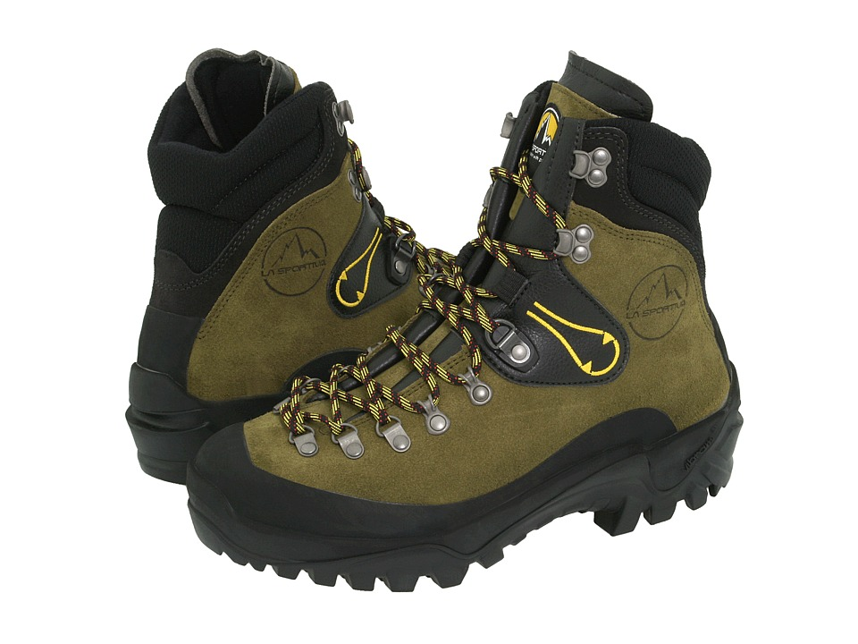 La Sportiva Karakorum Green Mens Hiking Boots