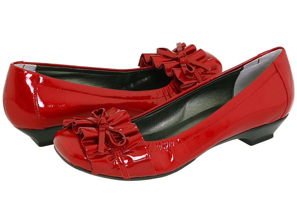 Vaneli - Genie (Red Smack Metallic Patent) Women's Slip-on Dress Shoes