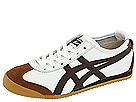 Onitsuka Tiger by Asics - Mexico 66 (White/Dark Brown) - Footwear