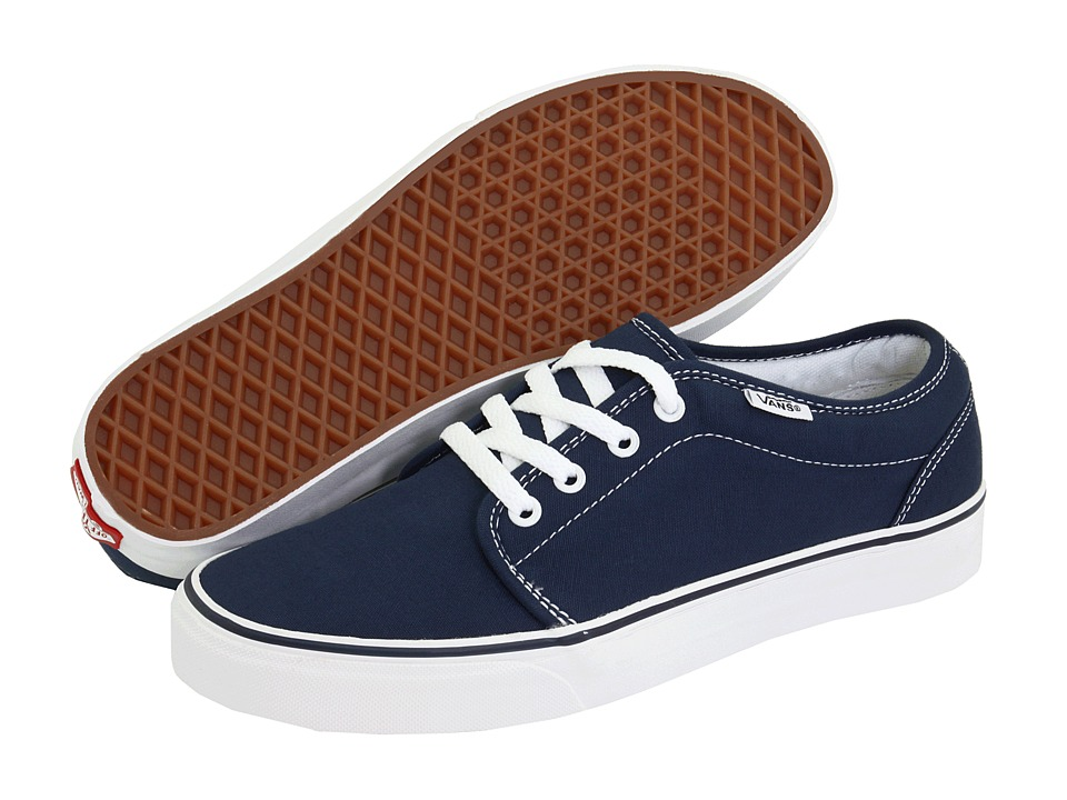 Vans 106 Vulcanized Core Classics (Navy) Skate Shoes