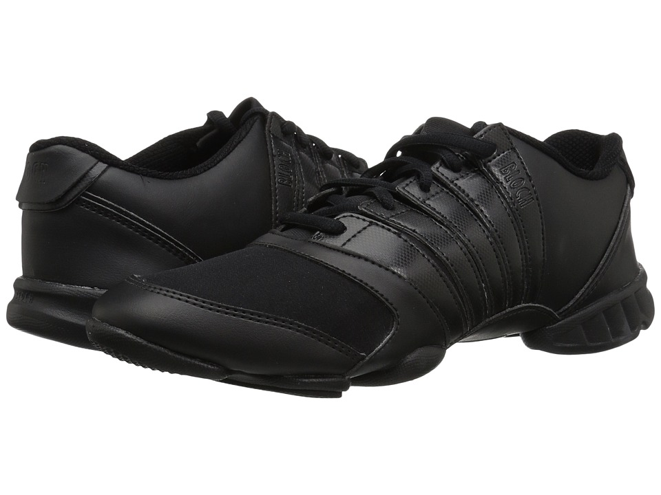 Bloch Trinity Dance Sneaker (Black) Women's Dance Shoes