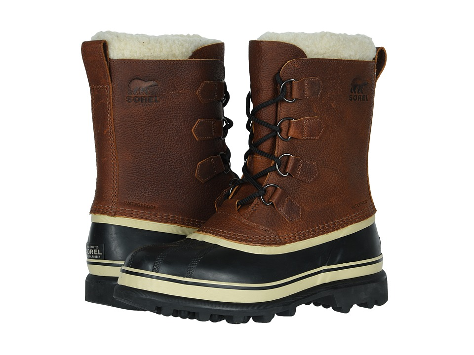 SOREL - Caribou Wool (Tobacco) Mens Cold Weather Boots