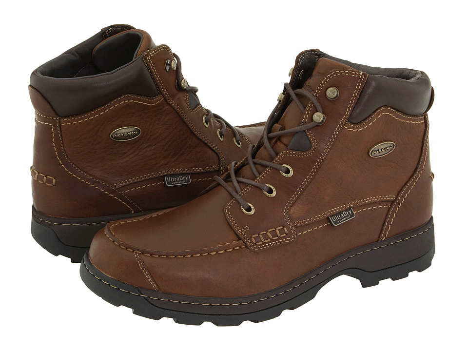 Irish Setter Soft Paw 3875 (Brown Full Grain Leather) Men...