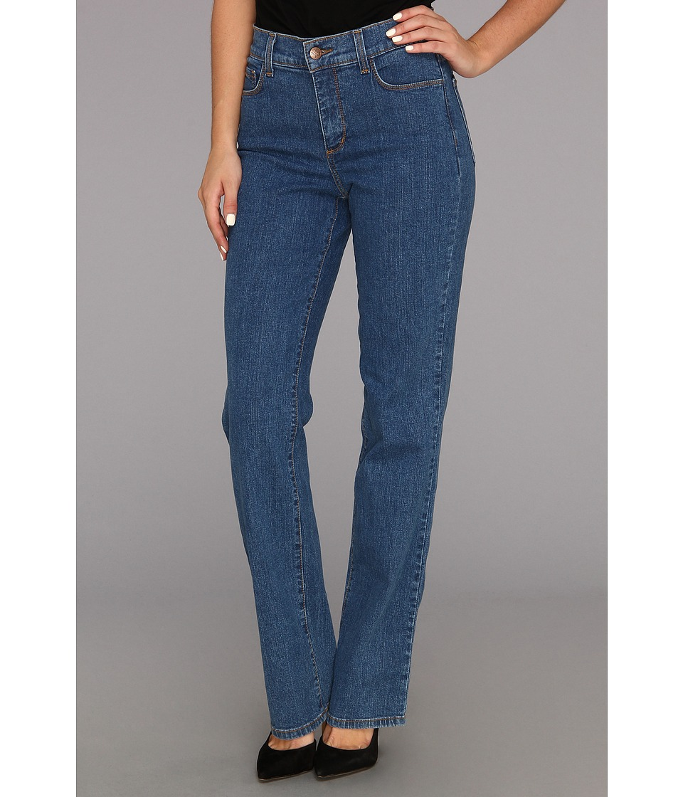 NYDJ - Marilyn Straight Leg in Indigo Light (Indigo Light) Womens Jeans