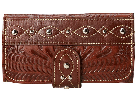 American West Over The Rainbow Tri-Fold Wallet
