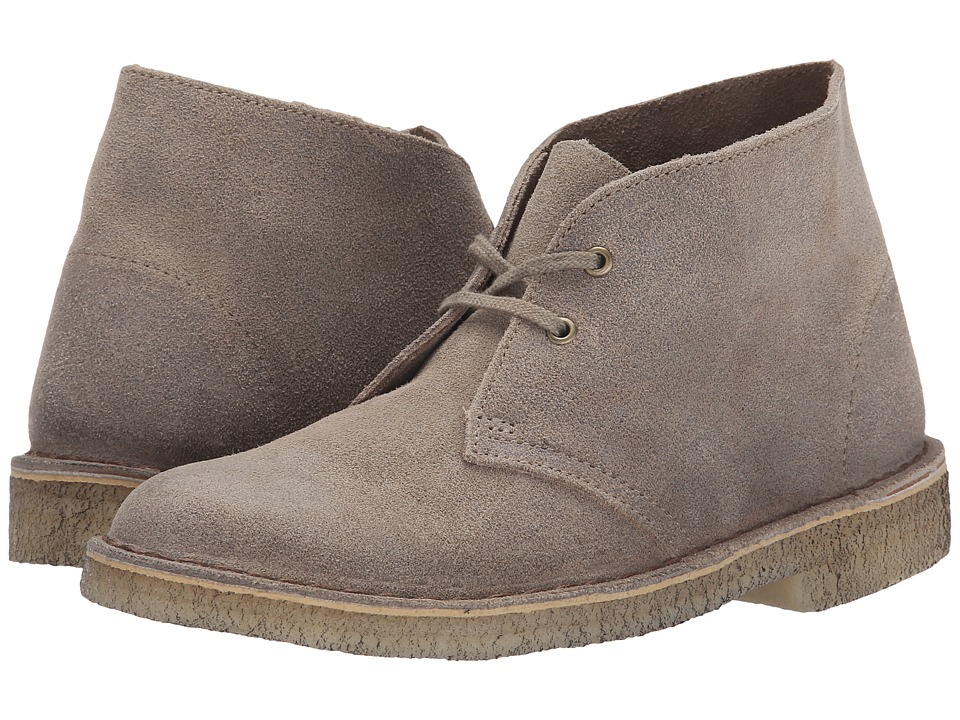 Clarks Desert Boot Taupe Womens Lace up Boots