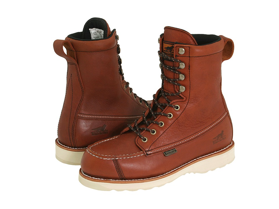 Irish Setter - Wingshooter 9 (Amber Leather) Mens Waterproof Boots