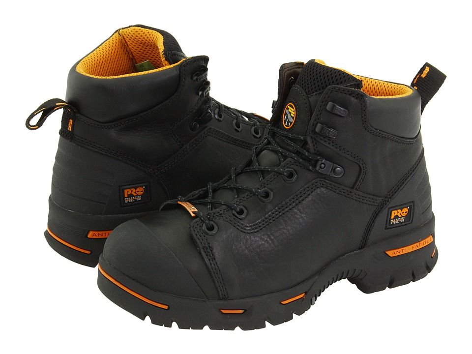 Timberland PRO - Endurance PR 6 Waterproof Steel Toe (Black) Men