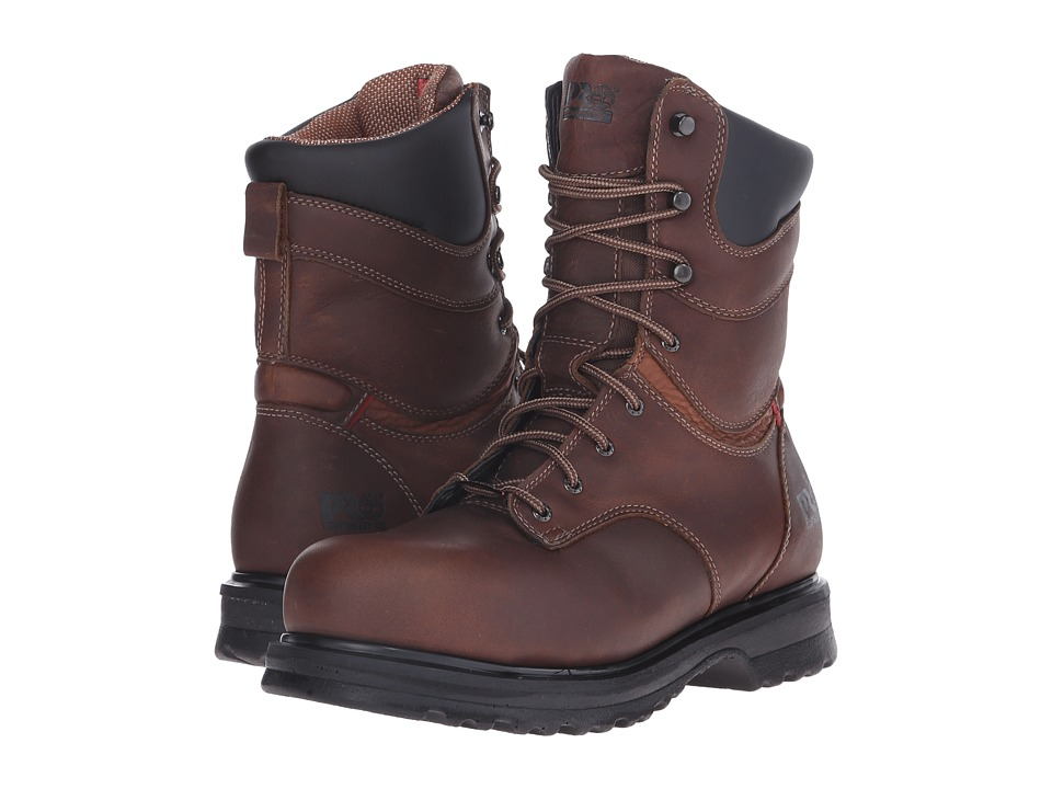 Timberland PRO - Rigmaster 8 Waterproof Alloy Safety Toe (Brown) Womens Work Boots