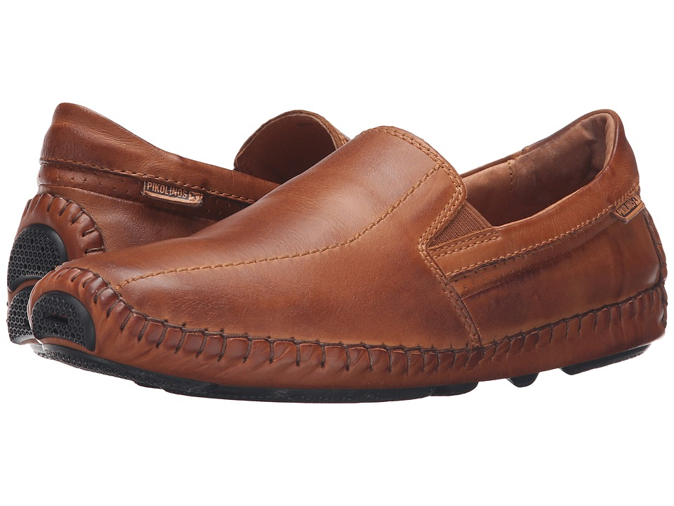 Pikolinos Jerez Moccasin 09Z-5956 (Brandy Leather) Men