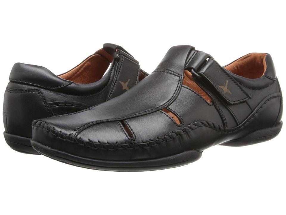 Pikolinos - Puerto Rico Fisherman 03A-6745 (Black Leather) Men