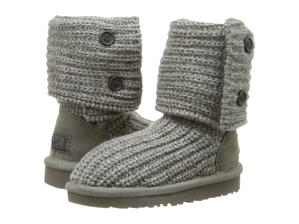UGG Kids Cardy (Toddler/Little Kid/Big Kid) (Grey) Girls Shoes