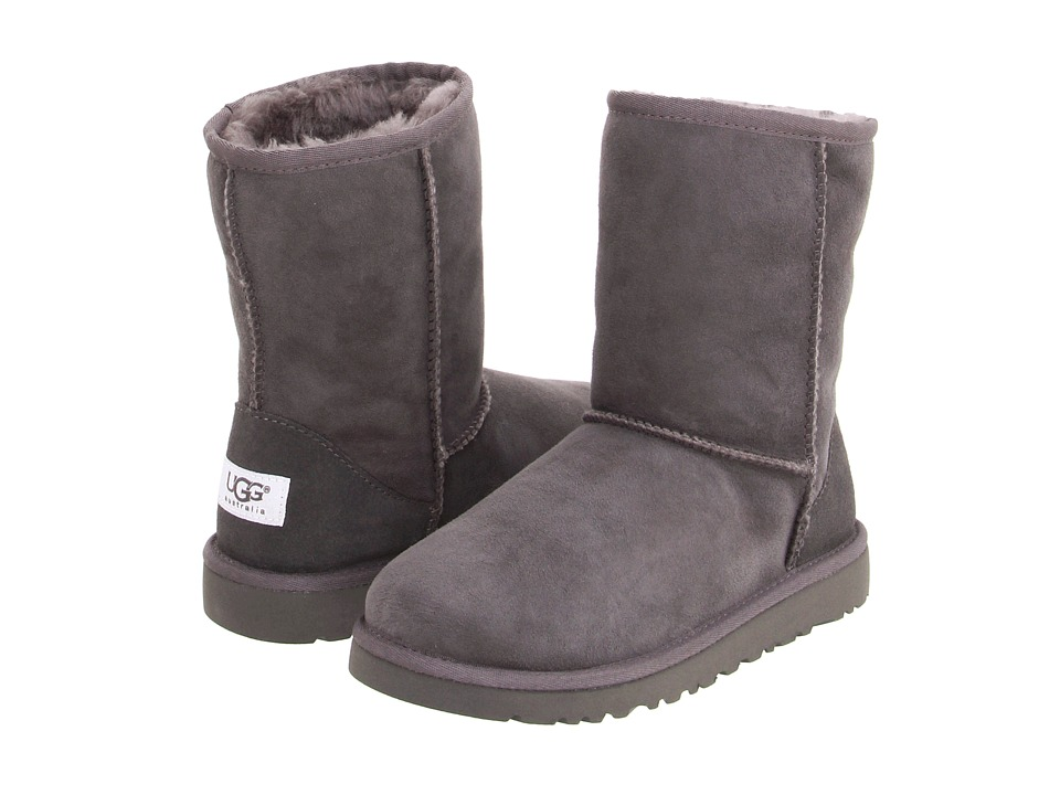 UGG Kids Classic Little Kid/Big Kid Grey Kids Shoes