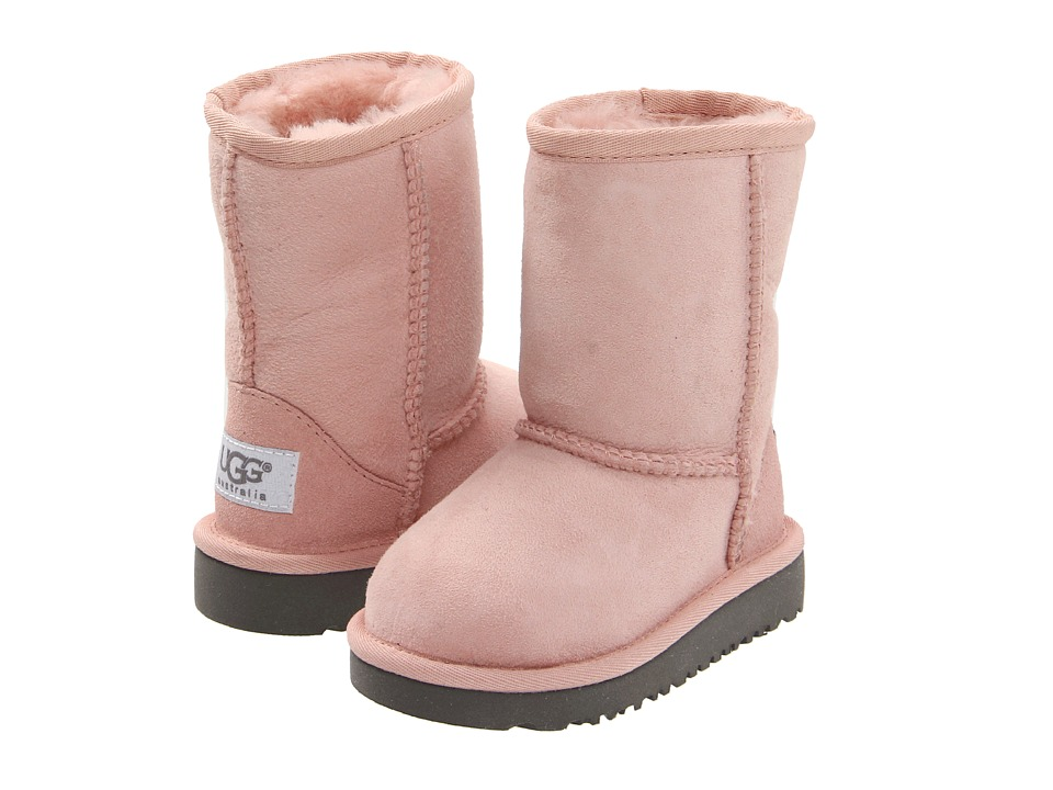 UGG Kids Classic Toddler/Little Kid Baby Pink Girls Shoes