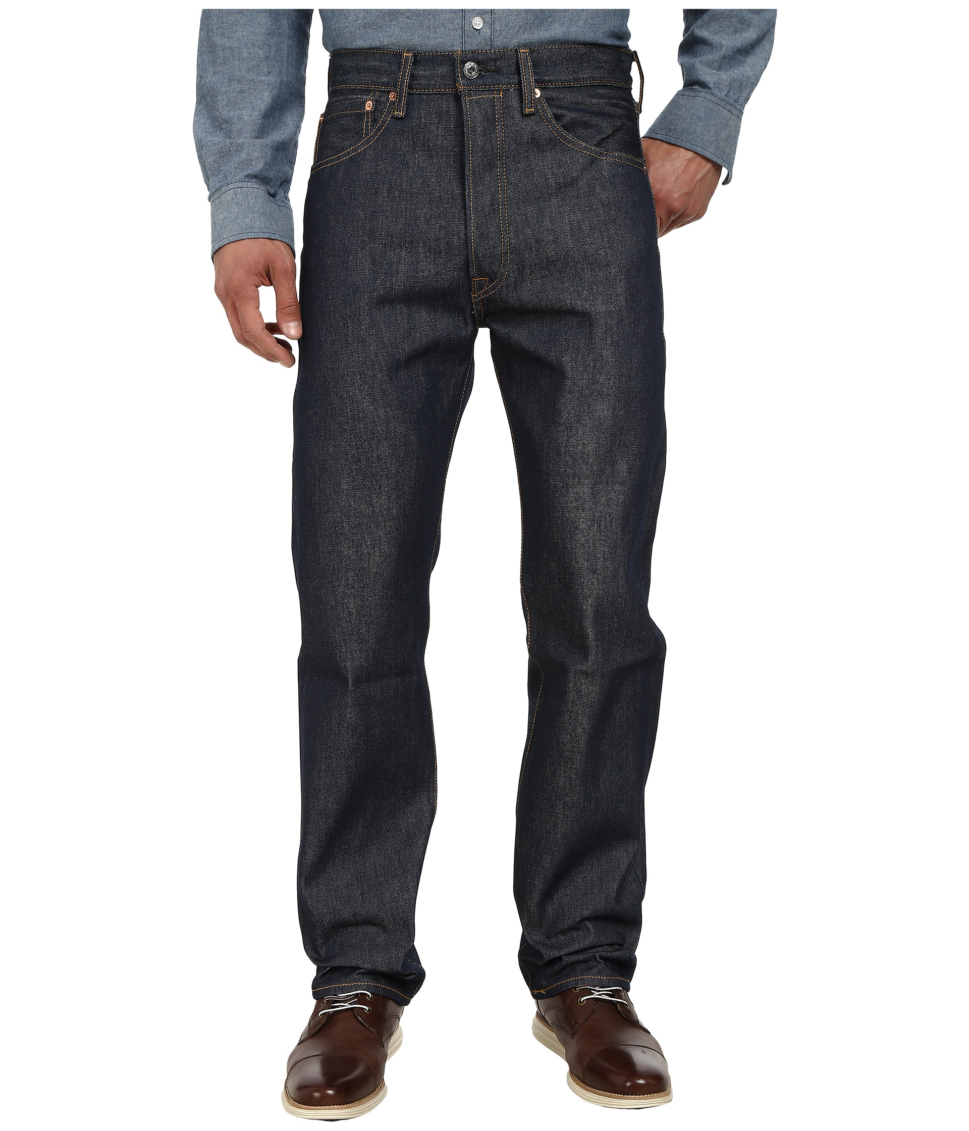 levi 39 s mens 501 original shrink to fit jeans at. Black Bedroom Furniture Sets. Home Design Ideas