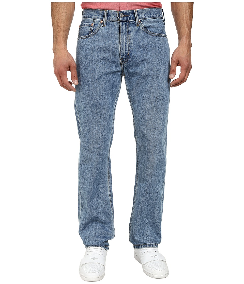 Levis(r) Mens - 505(r) Regular (Light Stonewash) Mens Jeans