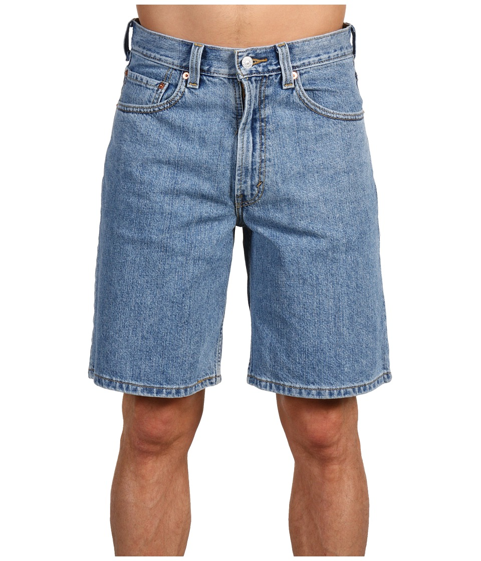 Levis(r) Mens - 550tm Relaxed Fit Short (Light Stonewash) Mens Shorts