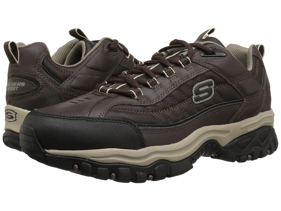 SKECHERS - Energy - Downforce (Brown/Taupe) Mens Cross Training Shoes