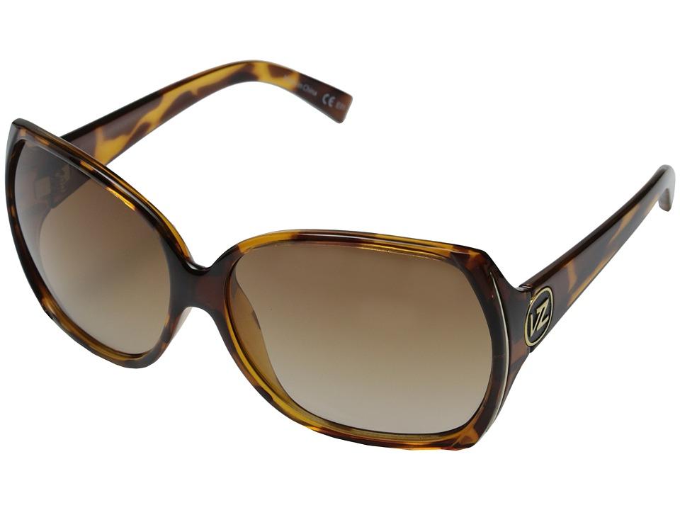 VonZipper Trudie (Tort/Gradient Lens) Sport Sunglasses