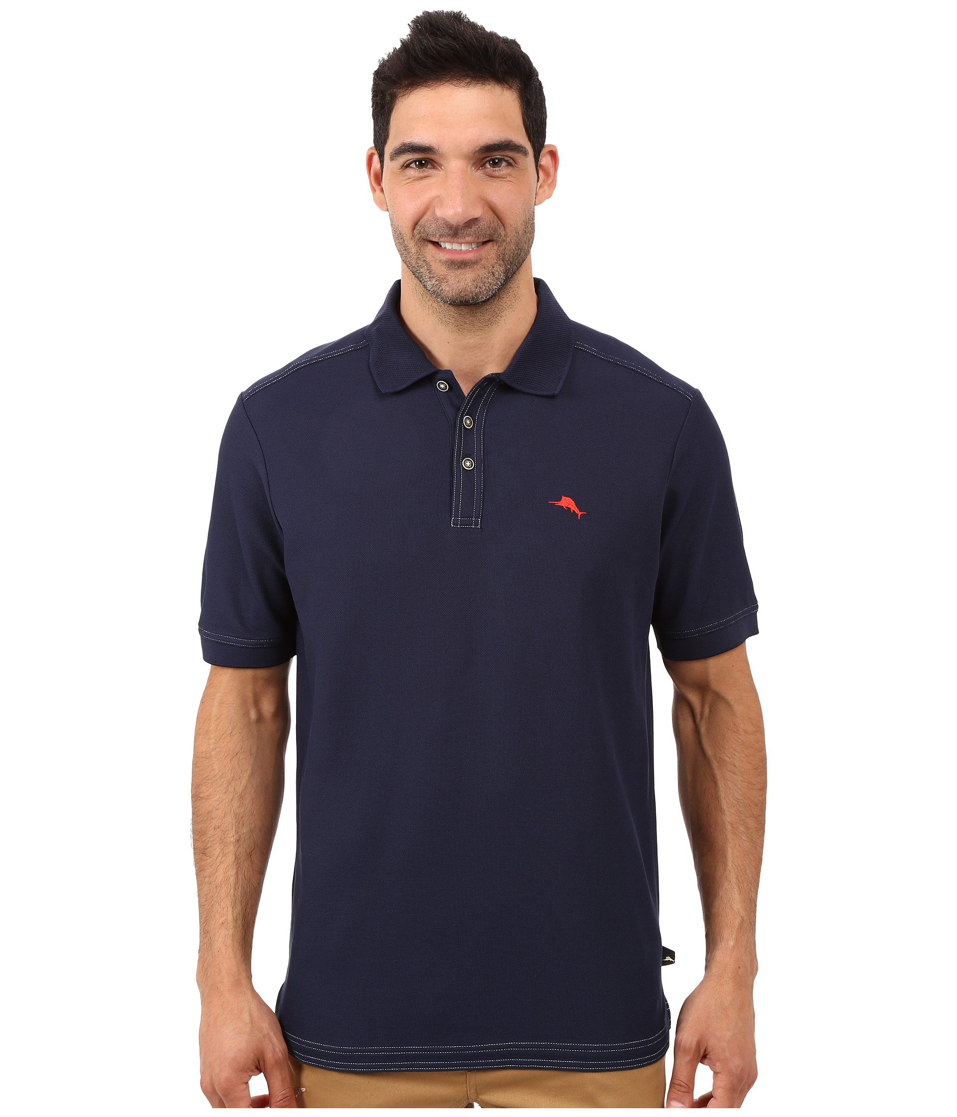 Tommy bahama the emfielder polo shirt blue note zappos for Tommy bahama polo shirts on sale