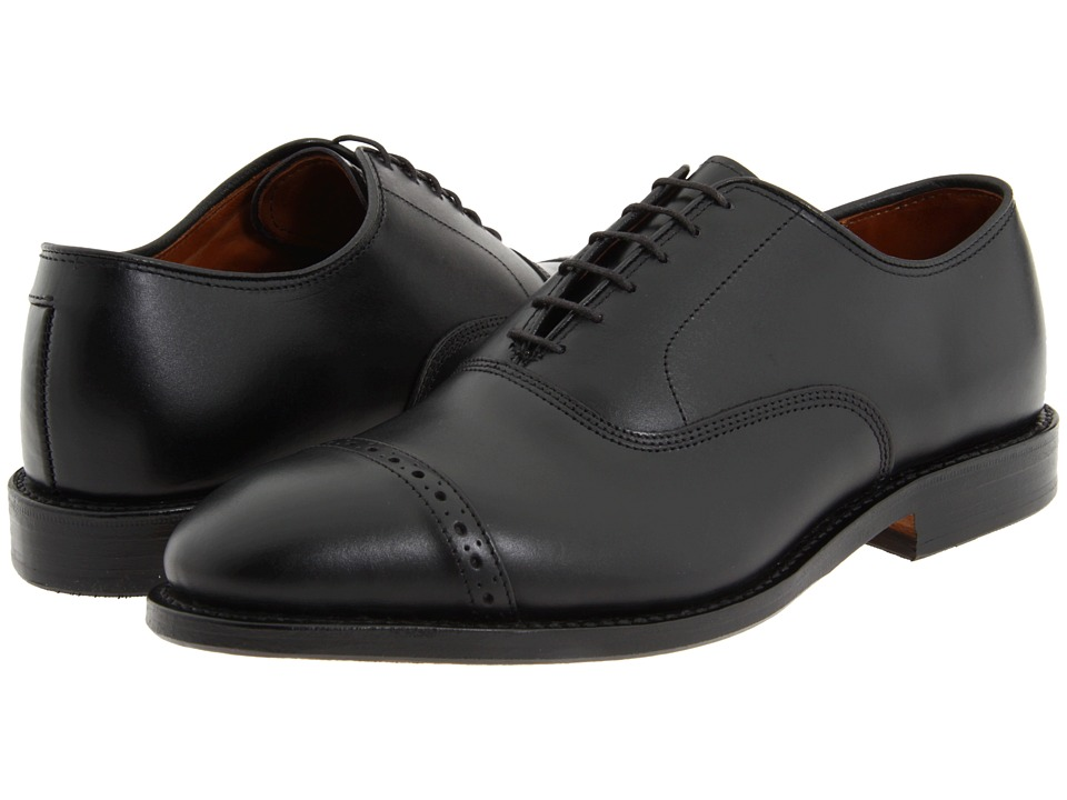 Allen Edmonds - Fifth Avenue (Black Calf) Mens Lace Up Cap Toe Shoes
