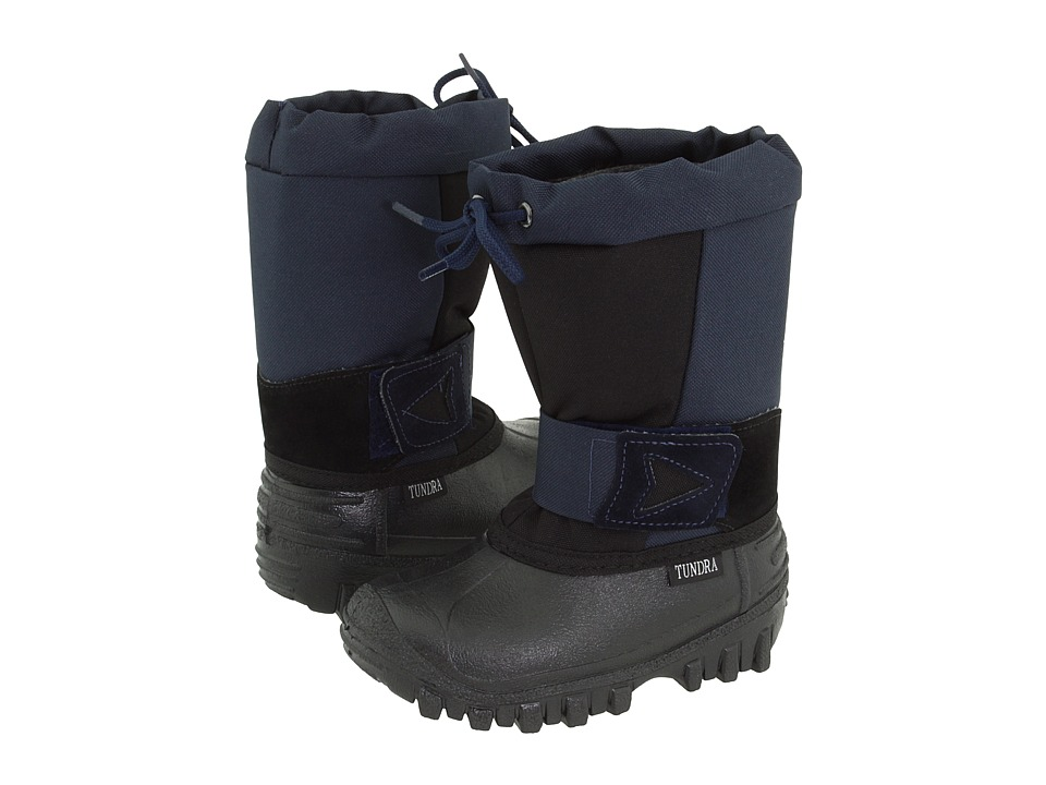 Tundra Boots Kids Arctic Drift Toddler/Little Kid Black/Navy Boys Shoes