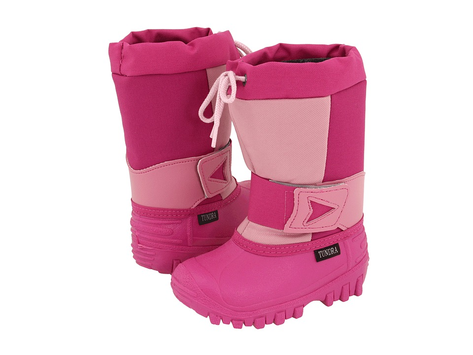 Tundra Boots Kids Arctic Drift Toddler/Little Kid Fuchsia/Pink Girls Shoes