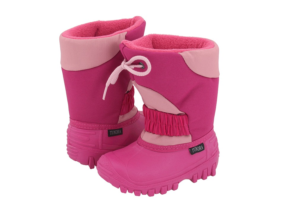 Tundra Boots Kids Outback Toddler/Little Kid Fuchsia/Pink Girls Shoes
