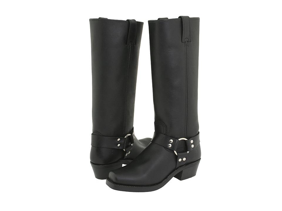 Frye Harness 15R (Black) Women's Pull-on Boots