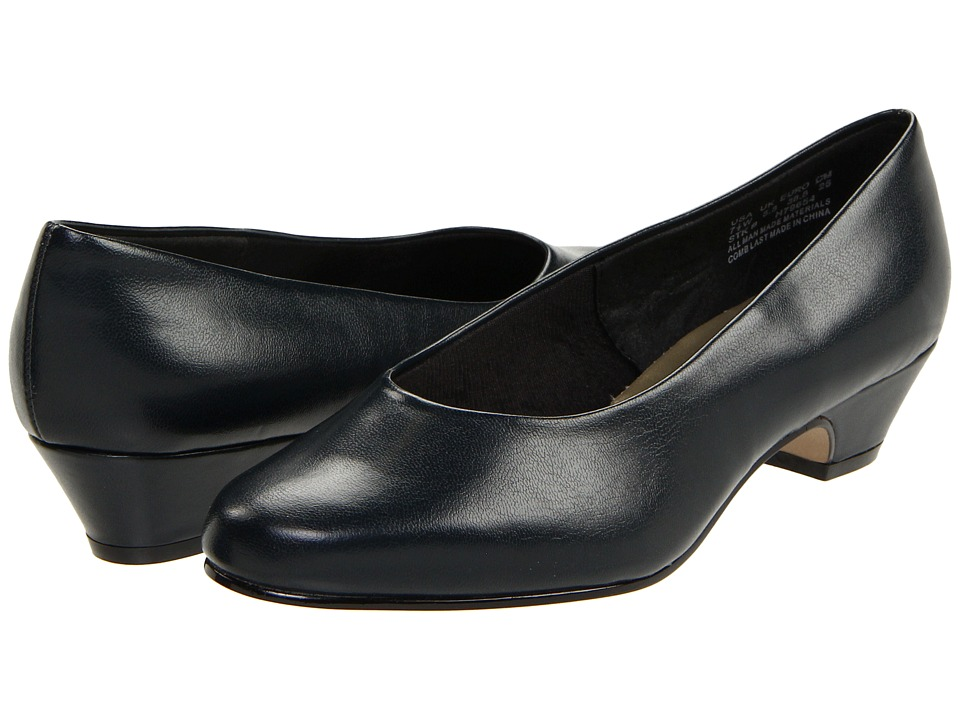 Soft Style Angel II (Navy Elegance) 1-2 inch heel Shoes