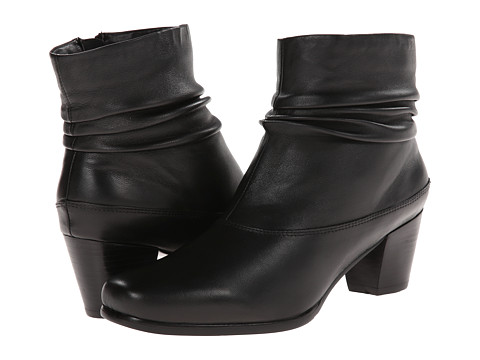 David Tate - Vera (Black Leather) - Footwear