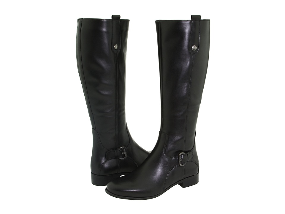 La Canadienne - Stefanie (Black Leather) Womens Waterproof Boots