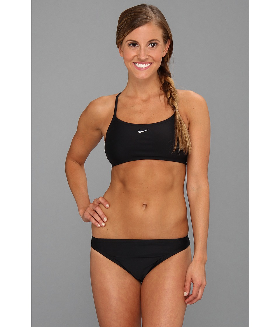 Nike Core Solids Sport 2-Piece (Black) Women's Swimwear Sets