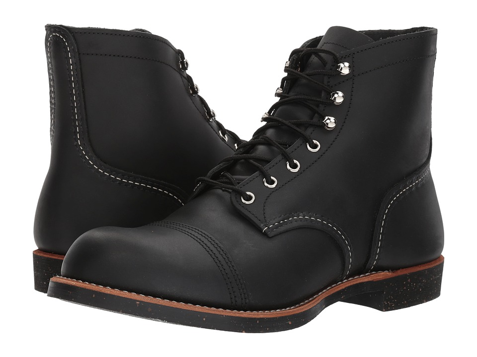 Red Wing Heritage - 6 Iron Ranger (Black Harness) Men's L...