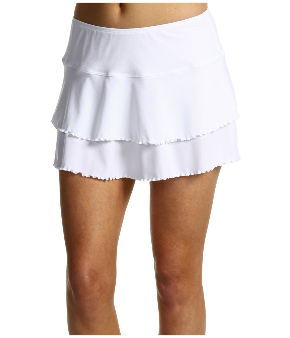 Body Glove Smoothies Lambada Skirt White Womens Swimwear