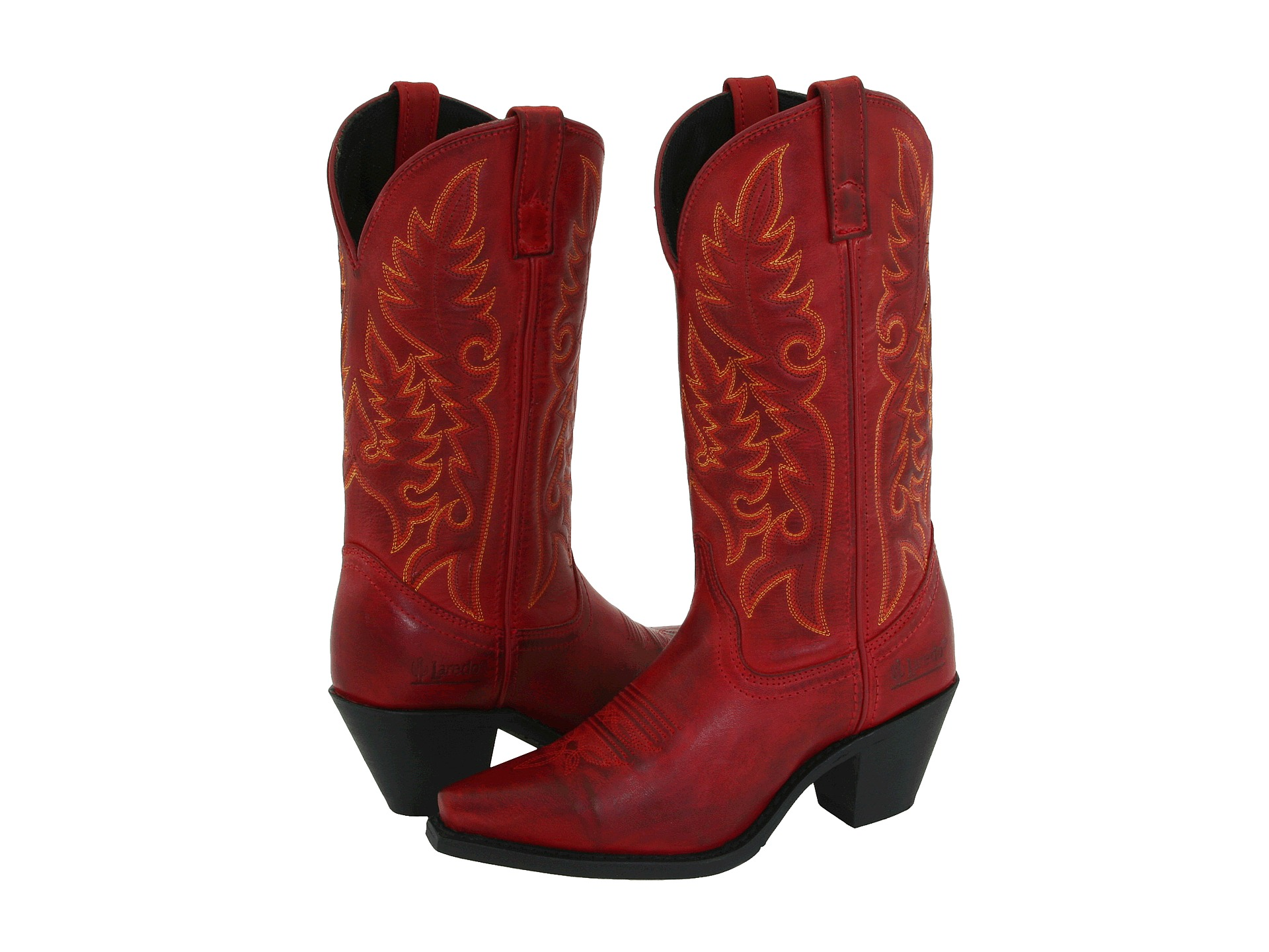 Excellent Laredo Western Boots Womens Cross Point 13u0026quot; Shaft Brown Turq 52032 - Pricefalls.com Marketplace
