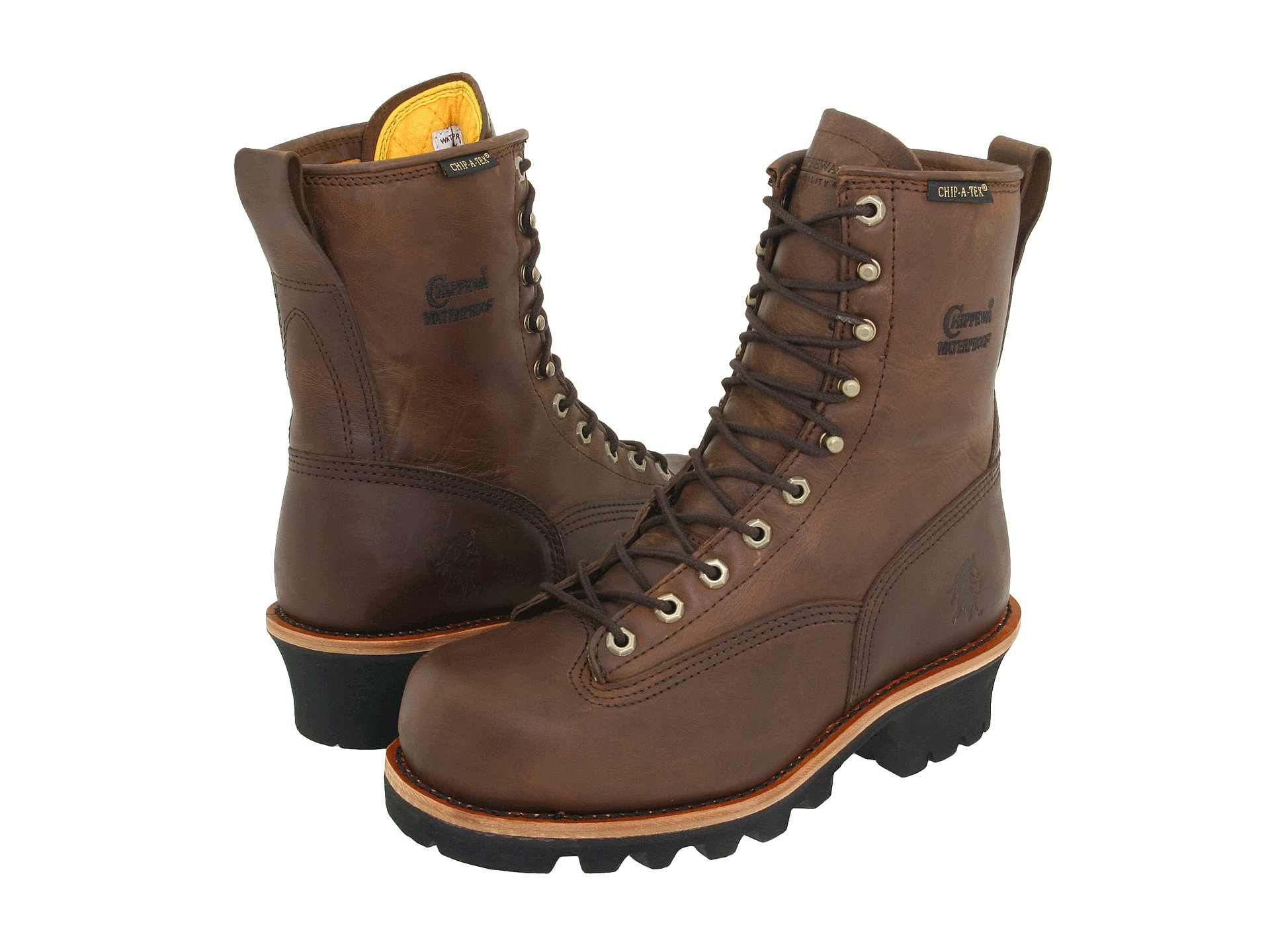 "Chippewa 8"" Bay Apache Insulated Waterproof Steel Toe Logger ..."