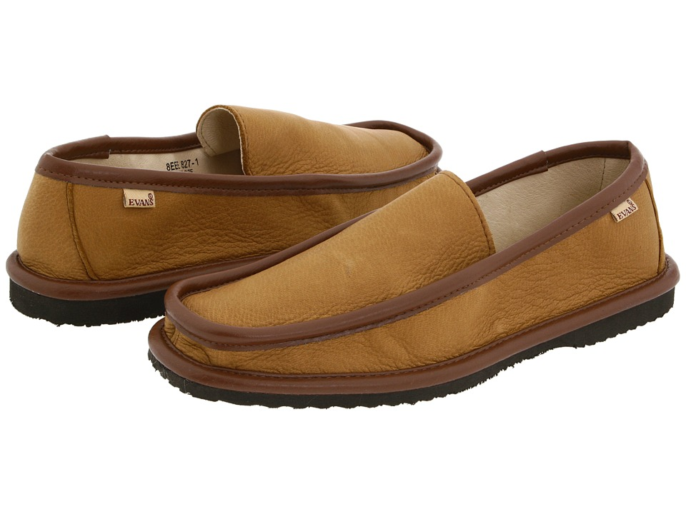 L.B. Evans - Deerking (Mocha) Mens Slippers