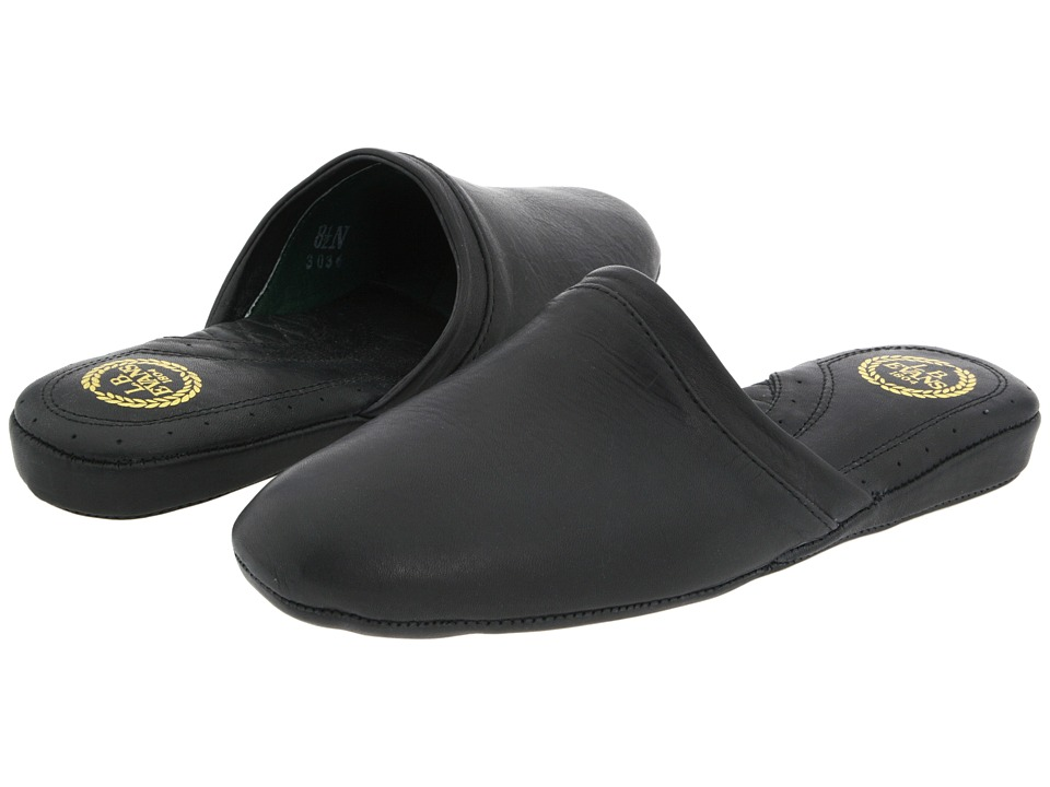 L.B. Evans Aristocrat Scuff Black Mens Slippers