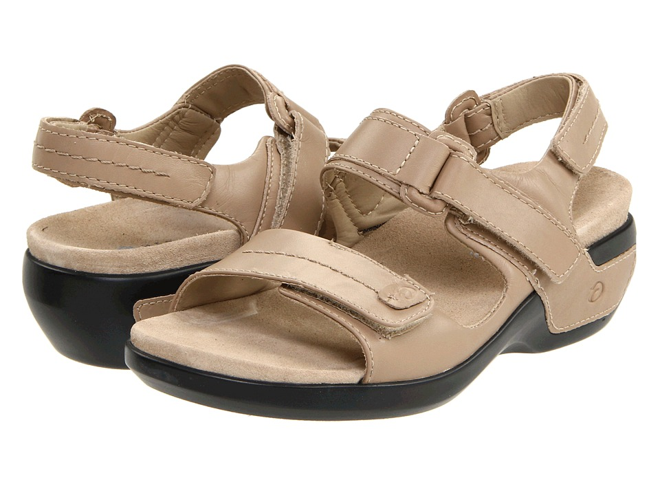 Aravon Katy (Taupe Leather) Sandals