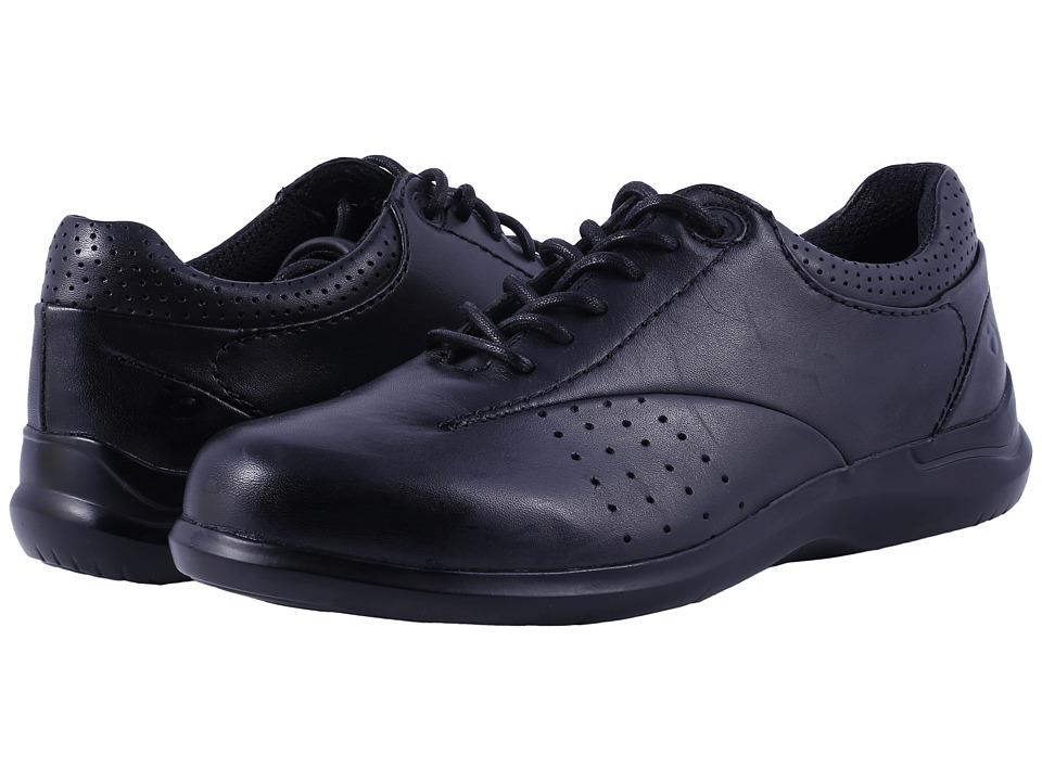Aravon Farren (Black Leather) Women's Shoes