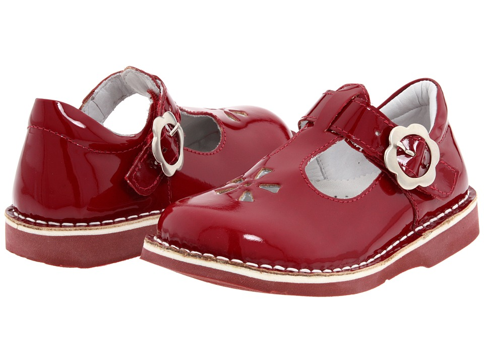 Kid Express Molly Toddler/Little Kid/Big Kid Cherry Patent Girls Shoes