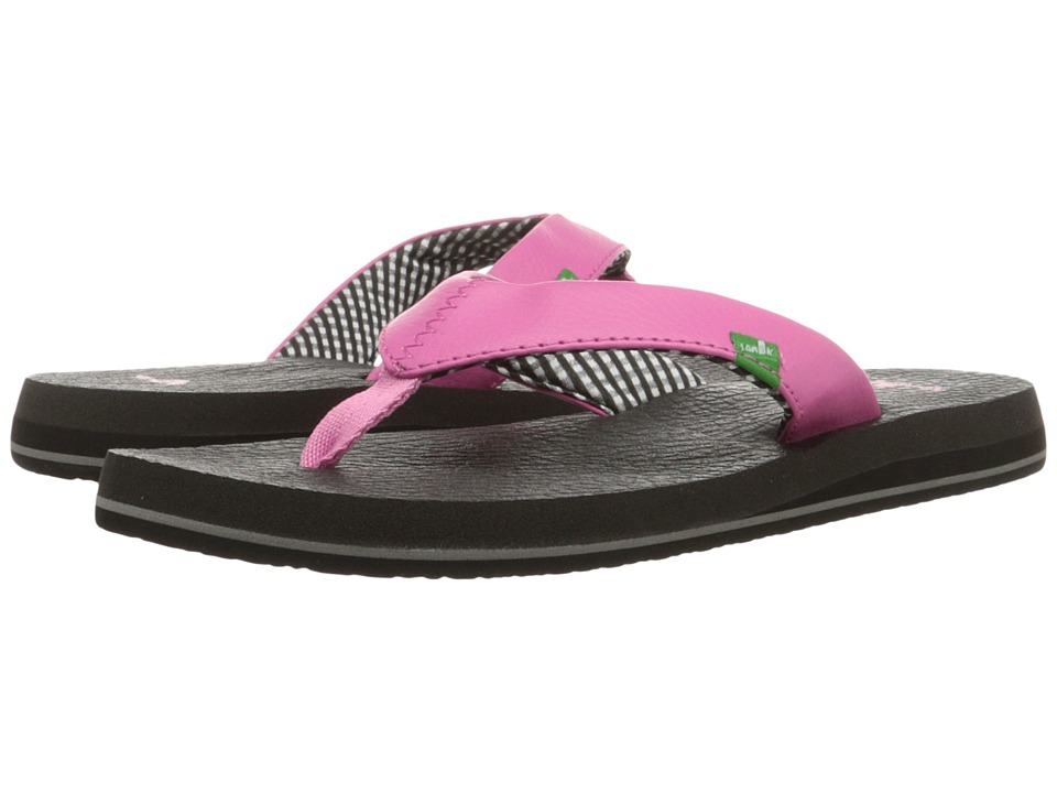 Sanuk Yoga Mat Pink Womens Sandals