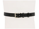 Cole Haan - Webster Belt (Black/Nickel) - Apparel