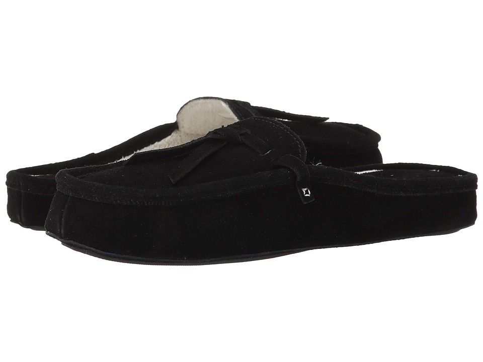 Patricia Green Greenwich (Black) Slippers