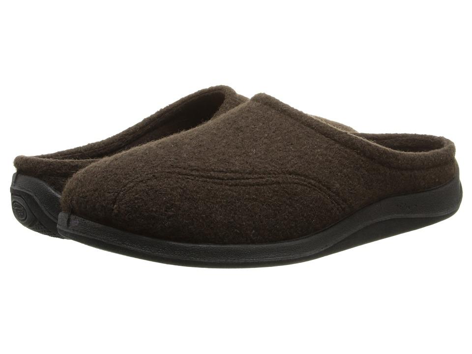 Foamtreads Tomas (Brown Wool) Men