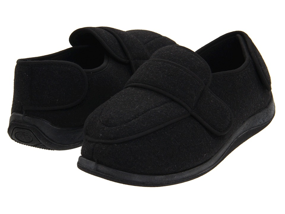 Foamtreads - Physician (Charcoal Wool) Mens Slippers
