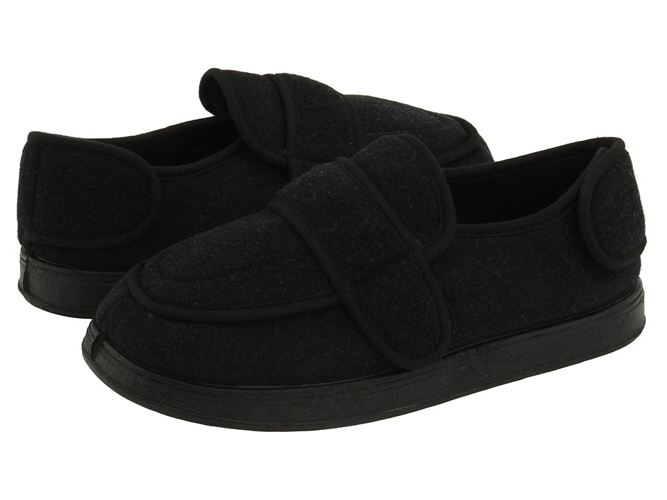 Foamtreads Physician (Charcoal Wool) Slippers