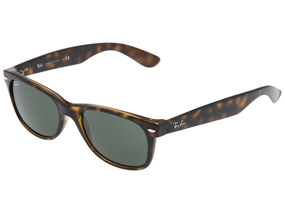 Ray-Ban RB2132 New Wayfarer 55mm (Tortoise/G-15 XLT Lens) Fashion Sunglasses