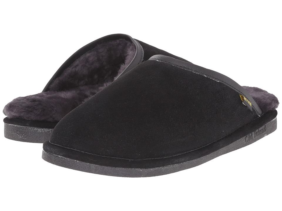 Old Friend Scuff (Black) Men's Slippers
